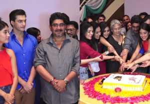 Mohsin Khan & Shivangi Joshi attends Yeh Rishtey Hain Pyaar Ke screening
