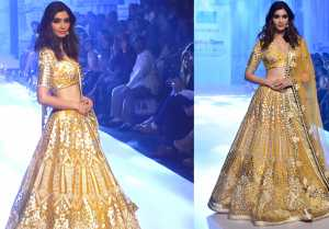 Diana Penty walks the ramp at Bombay Times Fashion Week 2019
