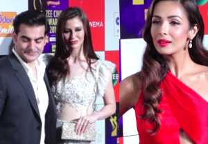 Malaika Arora IGNORED by Ex husband Arbaaz Khan in front of girlfriend Giorgia Andriani