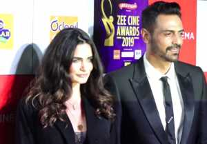 Arjun Rampal & Gabriella Demetriades attends Zee Cine Awards 2019 ;Watch video
