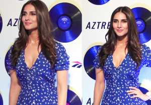 Vani Kapoor look fabulous at Reebok Classic Aztrek event ; Watch Video