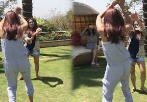 Shilpa Shetty CRAZY dance at her Holi Party; Watch Video
