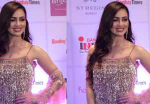 Sana Khan looks stunning with her boyfriend Melvin Louis at Bombay Times Fashion Week