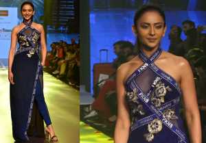 Rakul Preet Singh walks the ramp at Bombay Times Fashion Week 2019