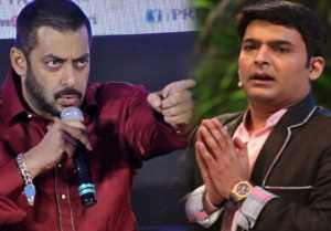 Salman Khan is not HAPPY with Kapil Sharma because of The Kapil Sharma Show TRP