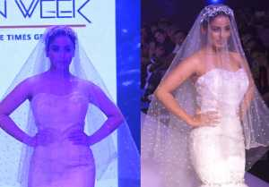 Srishty Rode walks the ramp at Bombay Times Fashion Week 2019