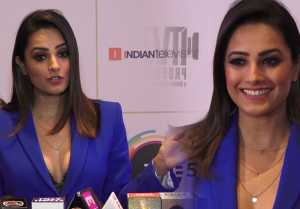 Anita Hassanandani talk on Bollywood comeback at Telly Awards 2019 ;Watch video
