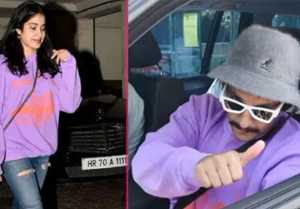 Ranveer Singh COPIES Jhanvi Kapoor style; Find the truth