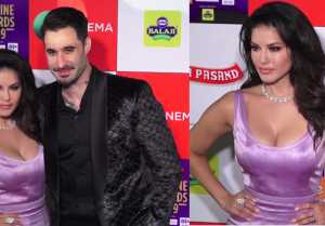 Sunny Leone looks perfect at Zee Cine Awards 2019;Watch video