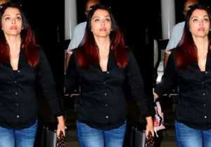 Aishwarya Rai Bachchan spotted at Mumbai airport between pregnancy news