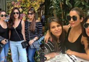 Kareena Kapoor chilling with her bestie Amrita Arora in London: Check Out Here