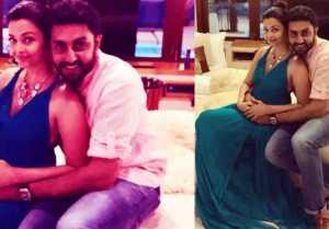 Aishwarya Rai Bachchan goes romantic with husband Abhishek Bachchan; Check Out