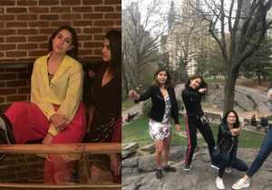 Sara Ali Khan enjoys with her friends in New York; Check Out