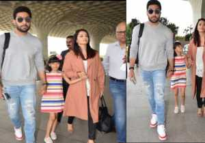 Aishwarya Rai & Abhishek Bachchan head out of town to celebrate wedding anniversary