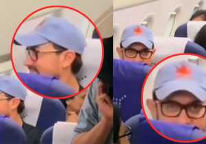 Aamir Khan travels in economy class; fans get shocked