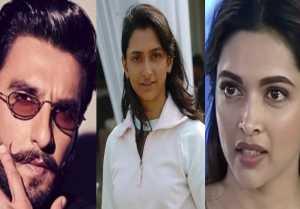 Deepika Padukone gets stucked between Ranveer Singh & Anisha