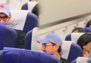 Aamir Khan gets trolled for travelling in economy class!: Check Out Here