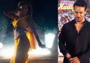 Bharat: Tiger Shroff gives cute reaction on Disha Patani on her Bharat song