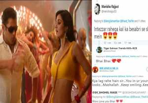 Bharat:  Salman Khan & Disha Patani's fans reaction on Slow Motion teaser; Find here