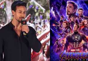 Tiger Shroff shocking comment on Avengers: Endgame; Watch Video