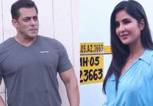 Salman Khan & Katrina Kaif promote Bharat at Mehboob Studio; Watch Video