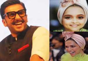 Deepika Padukone's cute pic shared by Ranveer Singh