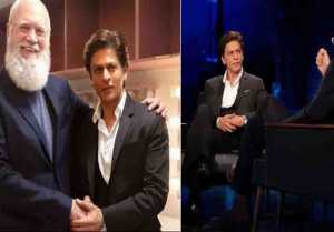 Shahrukh Khan appears on David Letterman's show: Check Out Here