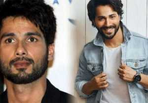 Shahid Kapoor gets replaced by Varun Dhawan for a sports brand