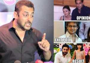 Salman Khan reacts on Vivek Oberoi's meme controversy
