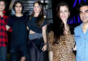 Malaika Arora's son Arhaan Khan attends Arbaaz Khan's GF Giorgia Andriani's Birthday