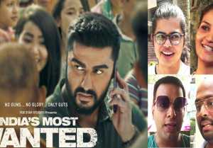 India's Most Wanted Public Review: Arjun Kapoor  Raj Kumar Gupta