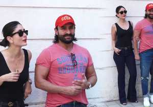 Kareena Kapoor Khan stares Saif Ali Khan outside Rujuta Diwekar's clinic; Watch Video