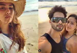 Shahid Kapoor and Mira Rajput enjoying with Misha and Zain in Thailand