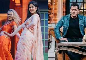 The Kapil Sharma Show: Salman Khan smiles when Katrina Kaif burns dance floor