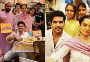 Kangana Ranaut enjoys Iftar party at costar Taher Shabbir's house