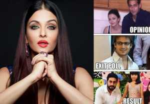 Aishwarya Rai Bachchan ignores Vivek Oberoi's controversial meme
