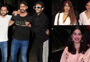 Malaika Arora, Jhanvi Kapoor, Anushka Sharma & others attend India's most wanted screening