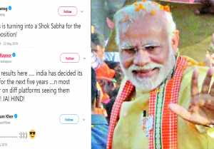 Ekta Kapoor & other Bollywood celebs wish PM Modi after Lok Sabha Election Results 2019