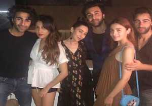Alia Bhatt parties with Ranbir Kapoor and his cousins; Check Out