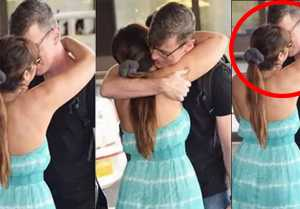 Ileana D'Cruz kisses boyfriend Andrew Kneebone publicly at airport: Check Out Here