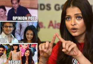 Aishwarya Rai Bachchan reacts on Vivek Oberoi's meme controversy