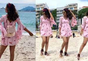 Hina Khan enjoys with boyfriend Rocky Jaiswal at french riviera; Check Out