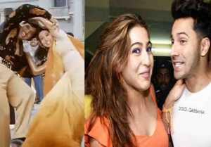 Sara Ali Khan & Varun Dhawan to recreate 90 superhit song in Coolie No 1 remake