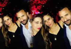 Kareena Kapoor Khan enjoys party with Karishma Kapoor & Saif Ali Khan in London