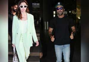 Alia Bhatt leaves shooting in middle, spotted with Ranbir Kapoor at airport; Watch video