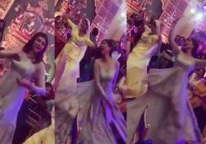 Sushmita Sen's crazy dance in brother Rajeev Sen's wedding with Charu Asopa; Watch video