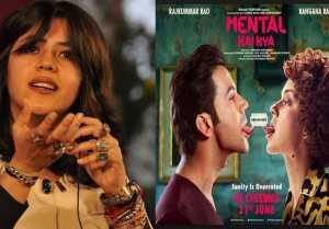 Ekta Kapoor REACTS on Kangana Ranaut's Mental Hai Kya title controversy