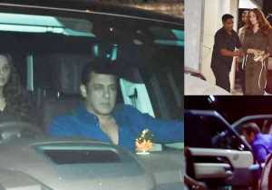 Salman Khan & lulia Vantur attended Sohail Khan's son Yohan's birthday bash; Watch Video