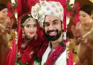 Sushmita Sen gets EMOTIONAL during brother Rajeev & Charu Asopa's wedding