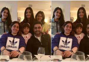 Aishwarya Rai, Abhishek Bachchan & Aaradhya Bachchan enjoy dinner with Navya Naveli